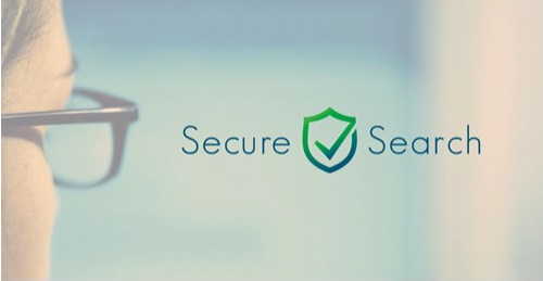 Secure Search Logo Featuring Green Secure Search Text.