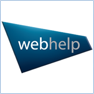 Company Logo Image, Business working with Search Consultancy, Webhelp